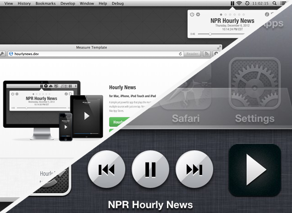 Hourly News for Mac and iOS